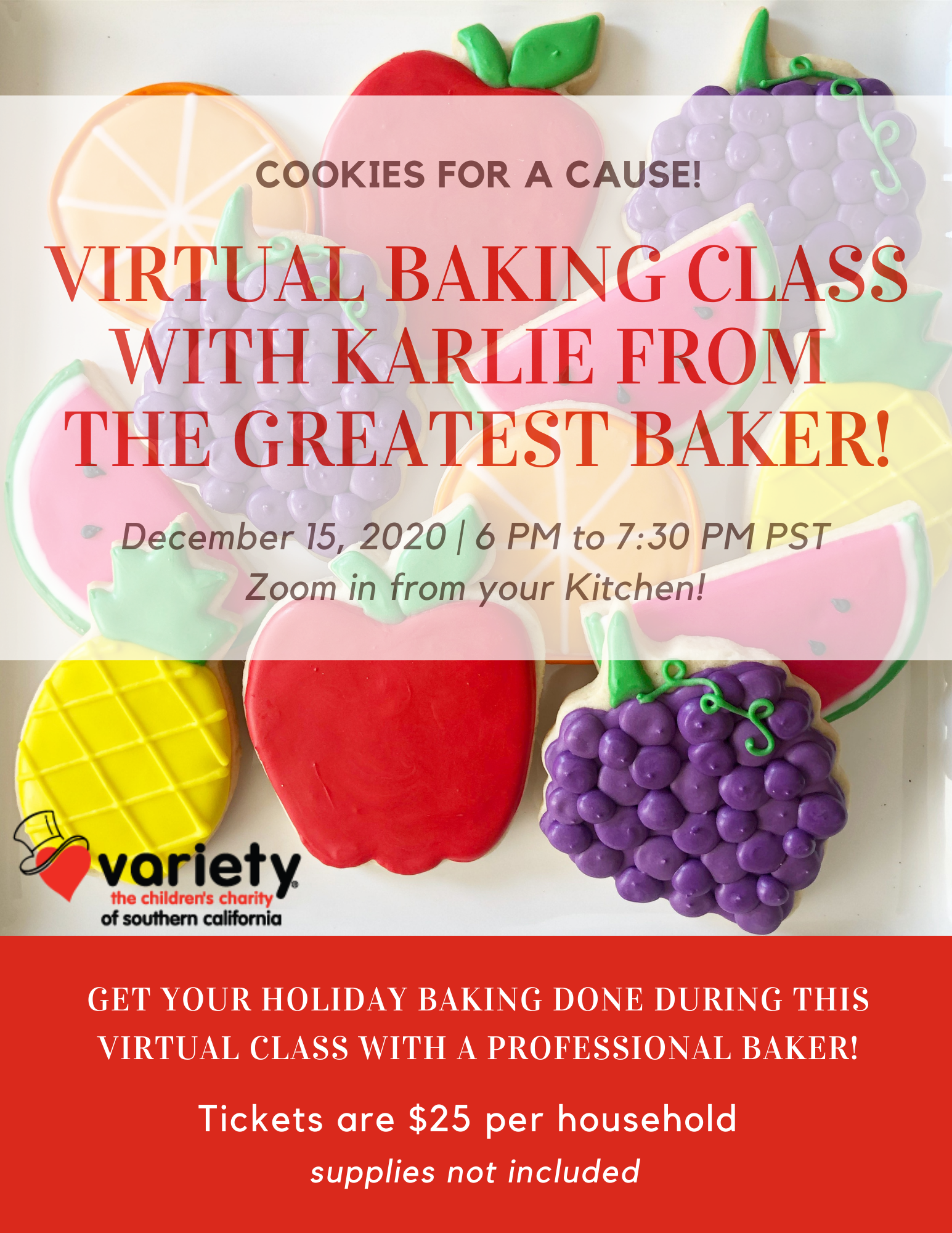 variety cooking class