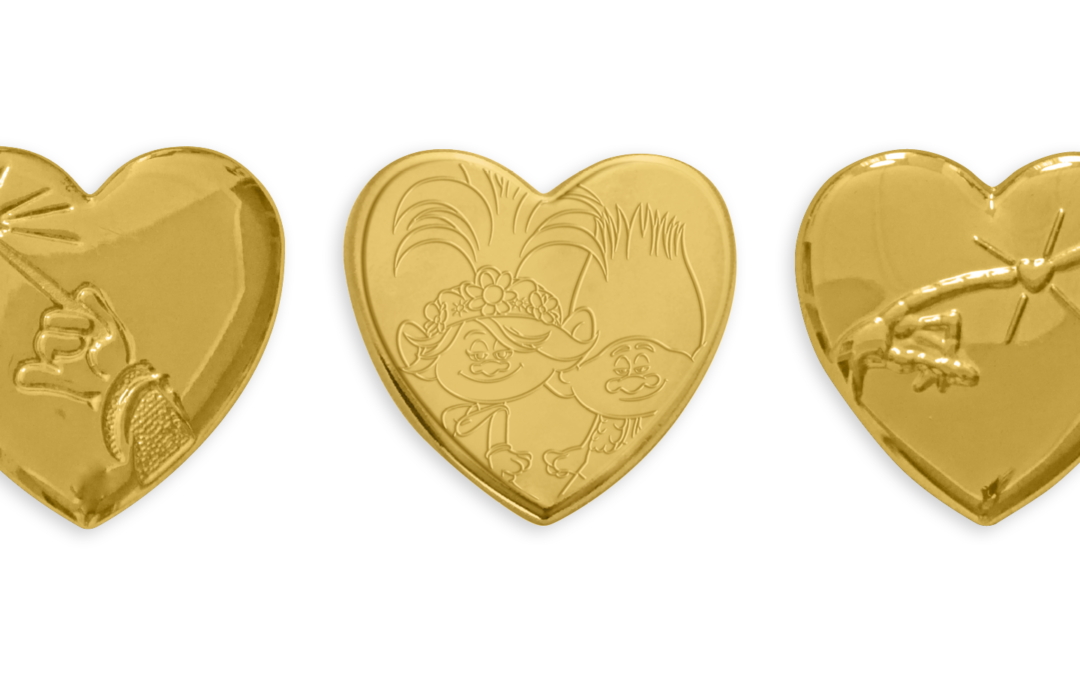 Gold & Paper Hearts