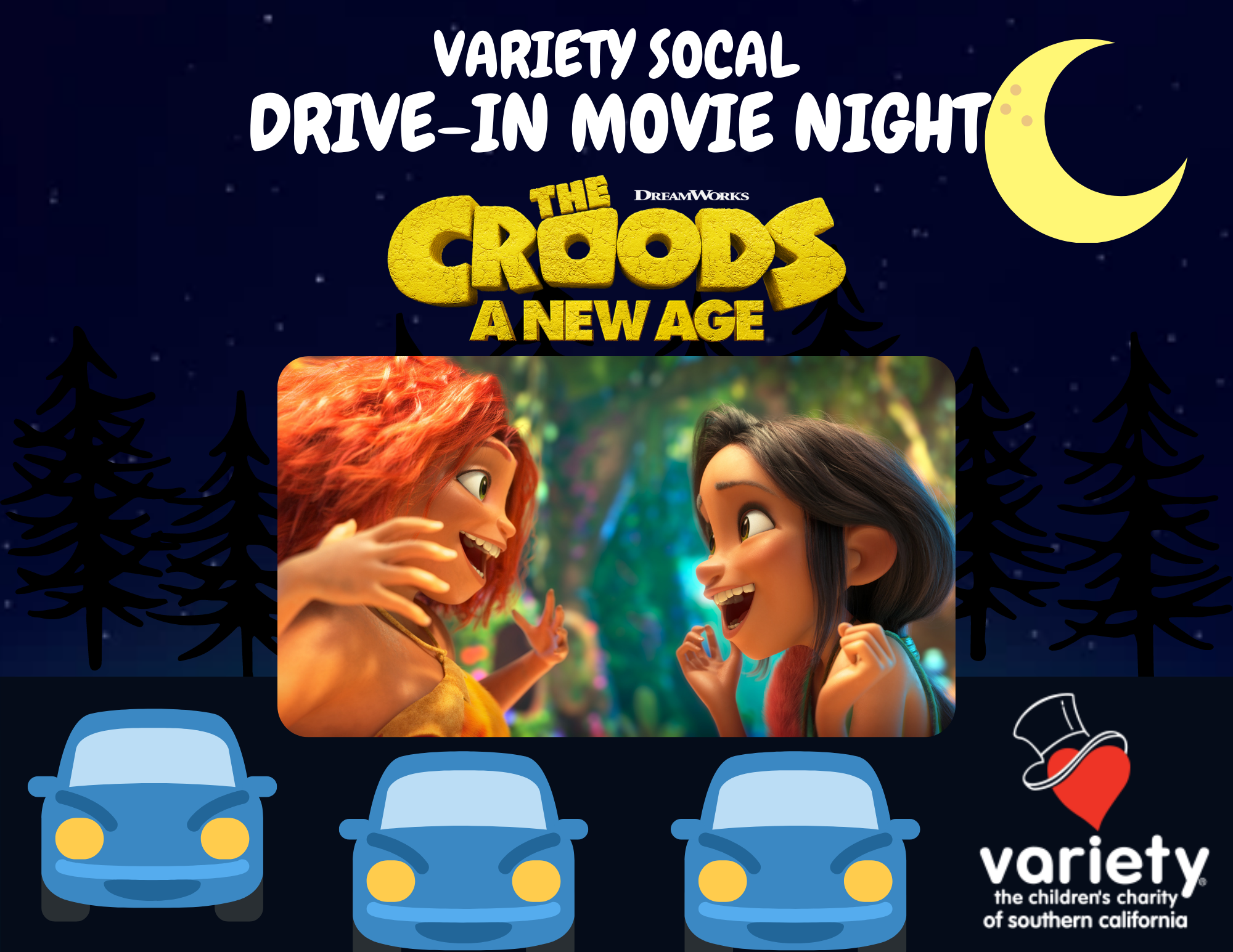 Variety at the Drive-In
