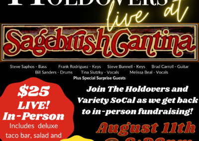 The Holdovers LIVE at Sagebrush Cantina